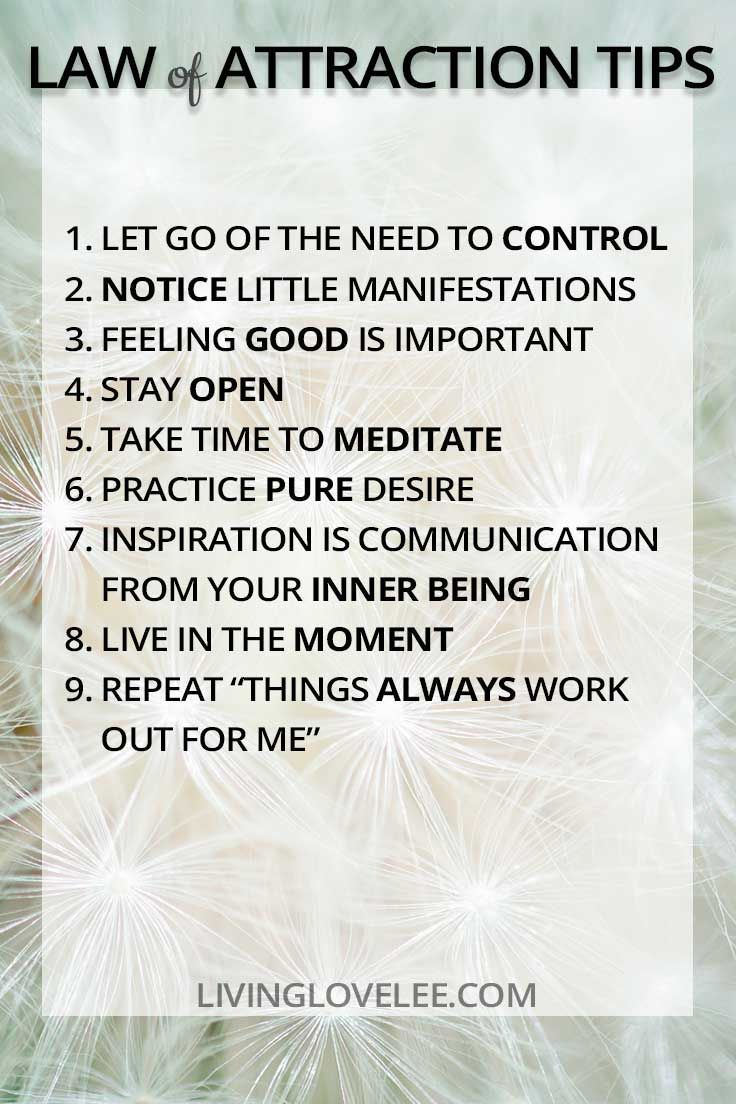 Law of Attraction: Simple Tips You Need to Remember