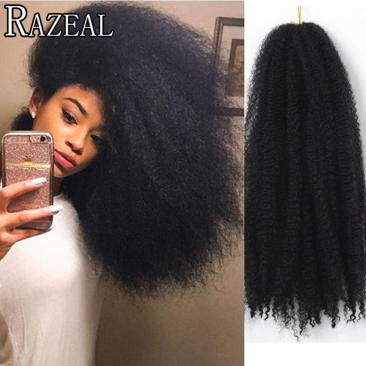 RAZEAL Crochet Braids Natural Hair