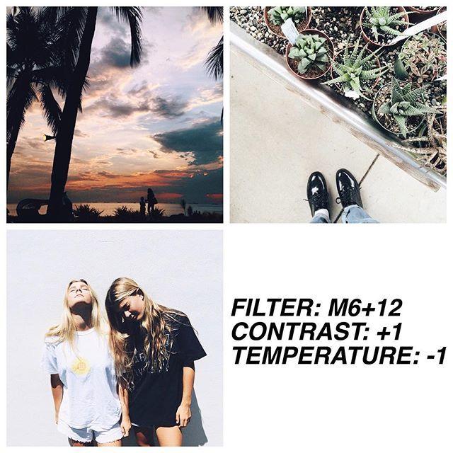VSCO Cam Filter Settings for Instagram Photos   Filter M6
