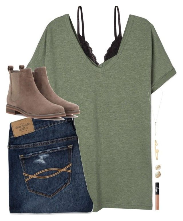 { set goals that scare &I excite you at the same time! } by shannaolo on Polyvore featuring polyvore, fashion, style, Abercrombie & Fitch, Humble Chic, Loro Piana, Sarah Chloe, Kate Spade, Kendra Scott, NARS Cosmetics, women's clothing, women's fashion, women, female, woman, misses and juniors