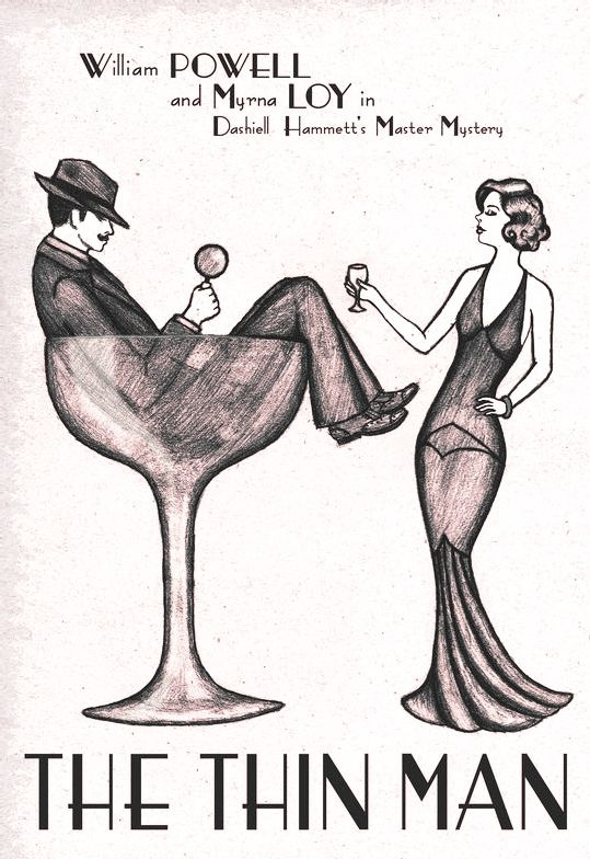 The Thin Man Illustration   The Thin Man