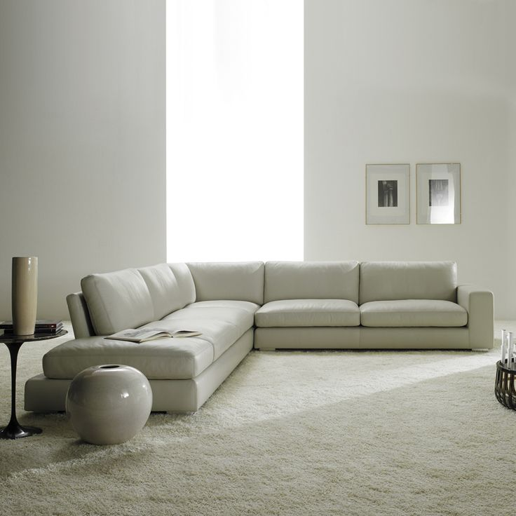 contemporary furniture sofa. relax contemporary italian corner sofa in cream leather furniture