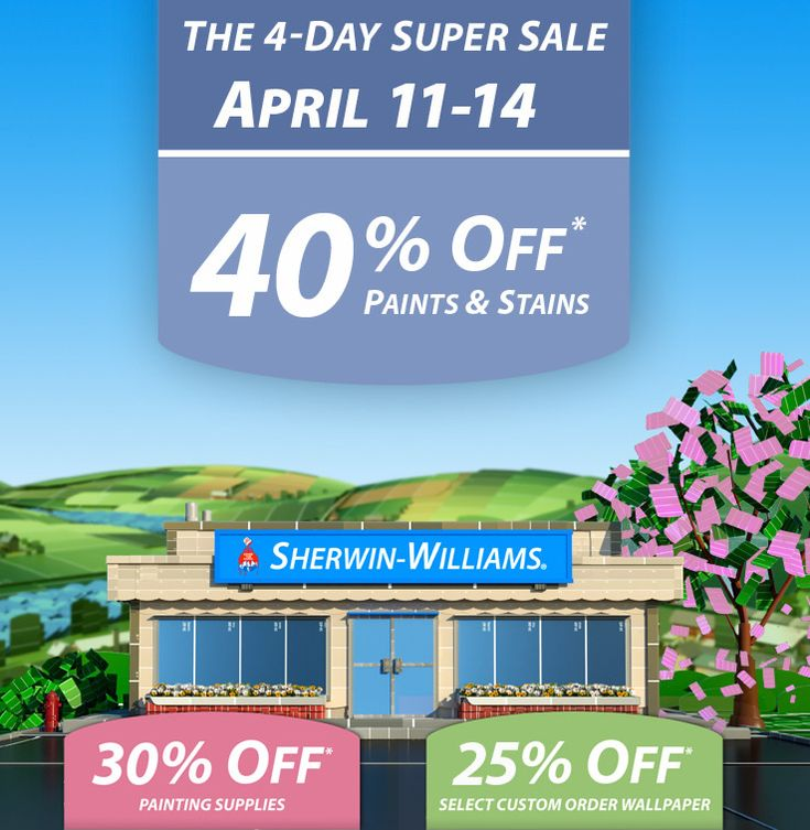 the Power of Paint: Sherwin Williams Painting Week