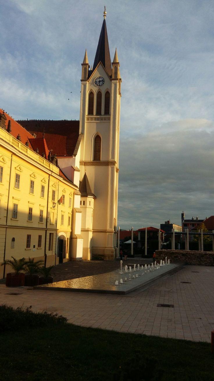 Keszthely  -  Fő tér
