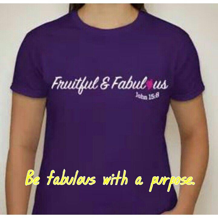Be fabulous w a purpose.