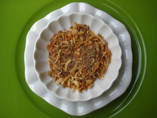 Homemade Lipton Onion Soup Recipe (for sour cream/onion dip for parties) - actual Lipton Onion Soup Mix is NOT gluten free.    http://www.food.com/recipe/copycat-liptons-onion-soup-mix-24952