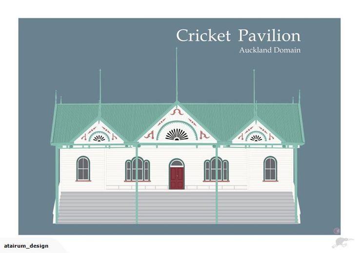 Framed A2 Digital Print - Pavilion Auckland Domain | Trade Me