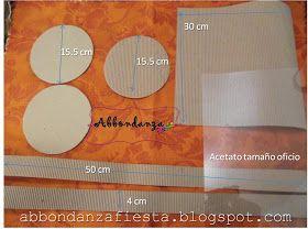 Abbondanza Fiesta: Mi primer tutorial: Caja para Fofuchas