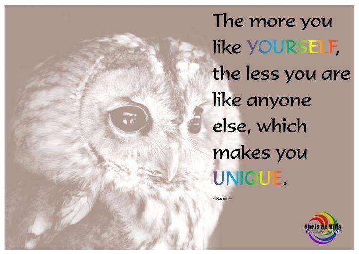 Celebrate your uniqueness   http://aneisdevida.co.za