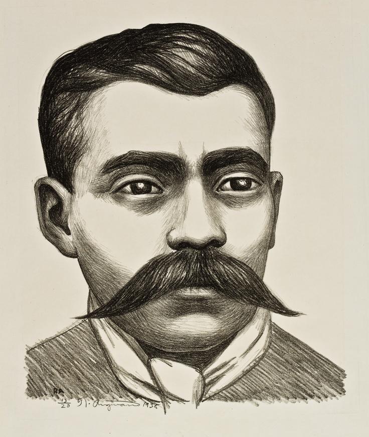 RAÚL ANGUIANO , Emiliano Zapata, 1938