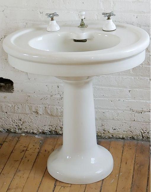Pedestal Sinks At Salvage One Home Ideas Pinterest