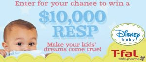 Win a $10,000 RESP or a T-Fal Prize Pack from Sears