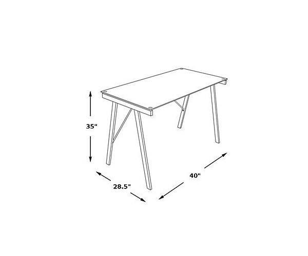 Best 25 Gray Desk Ideas On Pinterest Rustic Desk Craft