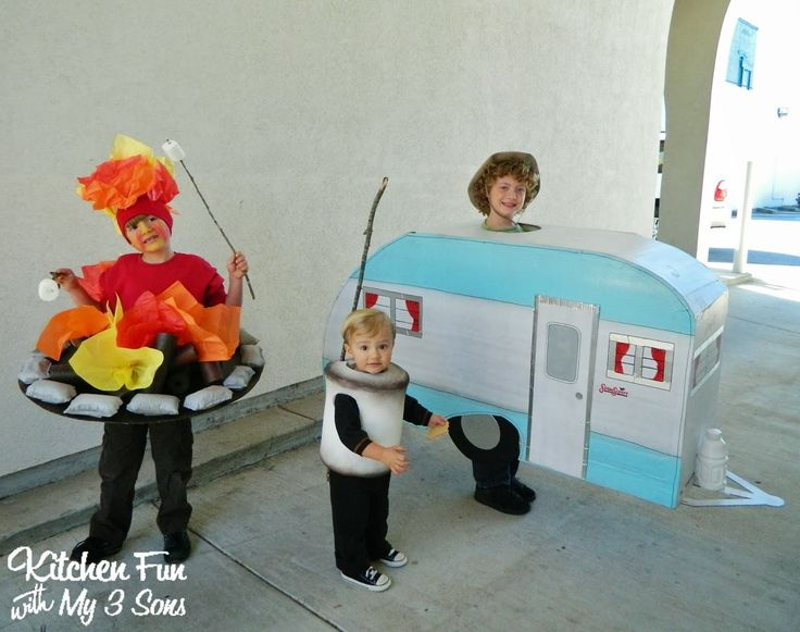 Over 40 of the BEST DIY Homemade Halloween Costumes for Babies & Kids! - Kitchen Fun With My 3 Sons