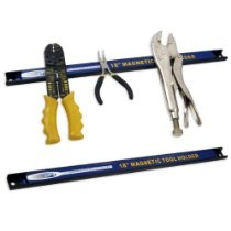 """#18"""" Magnetic Tool Organizer Rack - Set of Two  From General . $19.96 Get #Coupons http://astore.amazon.com/buycheapcouponcodes2012-20/detail/B003LZTBKQ #Amazon #Coupon #Code:"""