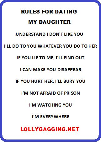 Dating my daughter quotes