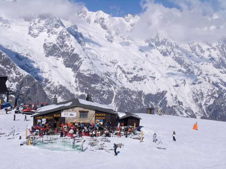 What's cool: Elite skiers and fashionable travelers alike congregate at Courmayeur, a charming yet upmarket resort town set beneath colossal Mont Blanc, Western Europe's highest mountain—and whose slopes are a convenient, dramatic cable-car ride away from those in France's Chamonix (