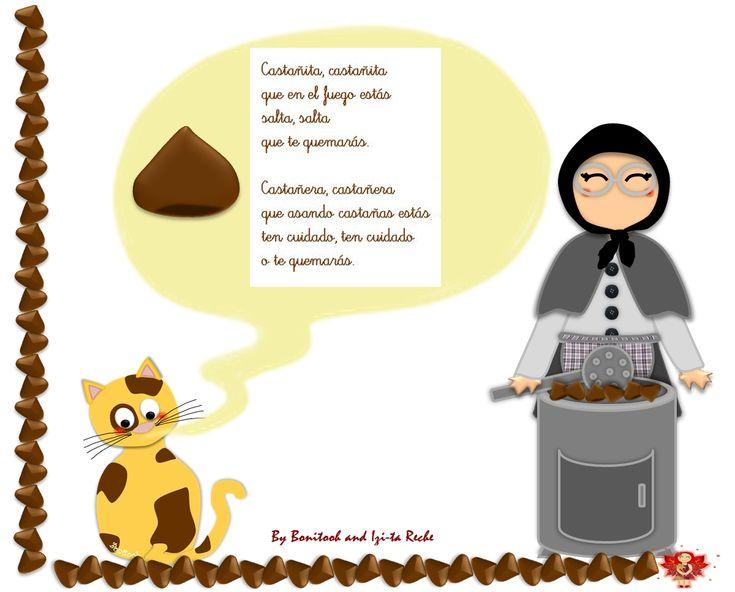 Maestra de Infantil: La castañera de otoño. Educación infantil.