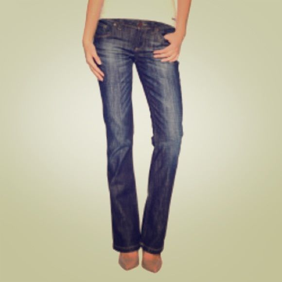 PRE PARTY SALE7 Seven  jeans Dark rise, bootcut, perfectly wormed in. Inseam - 33. Perfect for the fall. 7 Seven Jeans