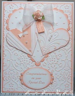 Kreative Korner By Kelly: A Couple Of Wedding Cards