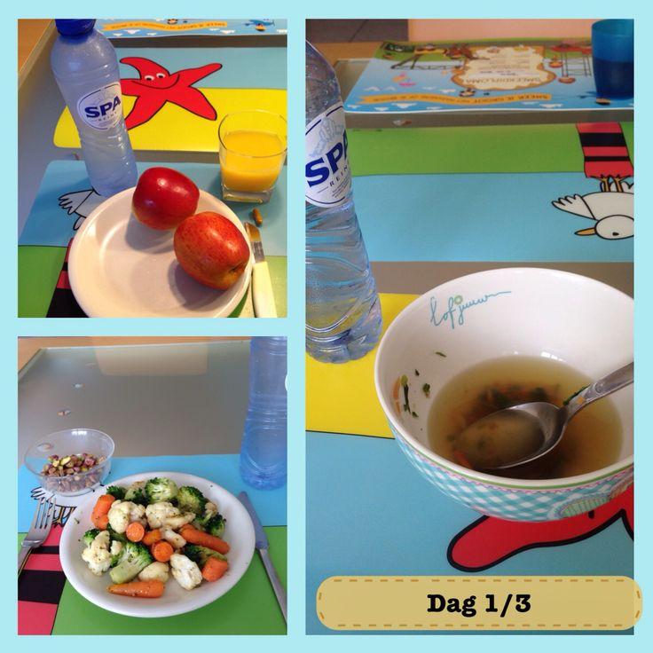 Dag 1 van 3 is een feit: so far, so good. Dag 2 is altijd de echte uitdaging....