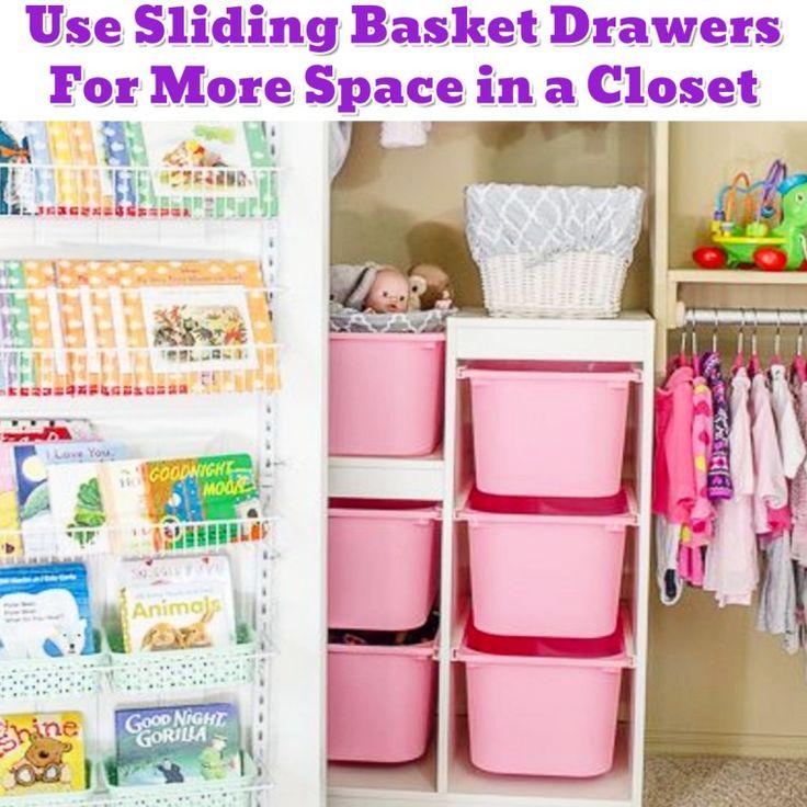 Baby Closet Organization Idea For Small Nursery Closet   Getting Organized    50+ Easy DIY