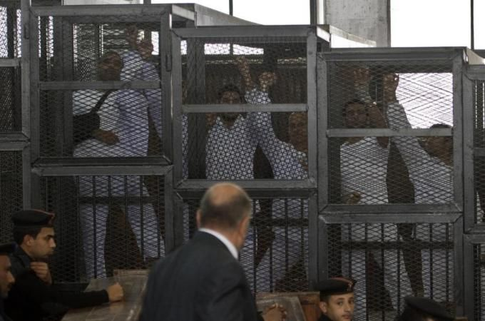 #auspol #FreeAJStaff PETER GRESTE>Trial of Al Jazeera staff adjourned in Egypt - Middle East - Al Jazeera English