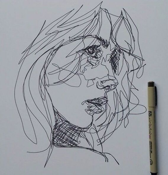 {open: Delilah} I open up my sketch book and look at the drawing. Is it finished?.. I have no idea.. I cross my legs and take a pen out my bag, tapping it against my book trying to figure out what it was missing, when you walk over