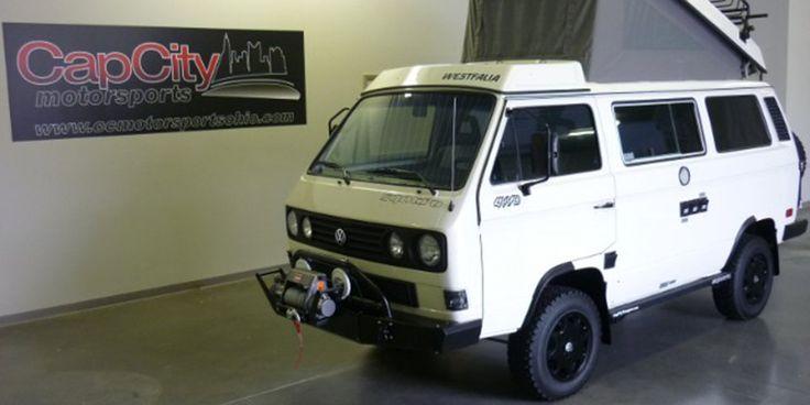 Find of the Day: 1987 Volkswagen Vanagon Syncro Camper - VWVortex