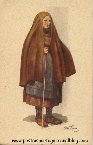 Capote de burel - Beira Alta - Portugal