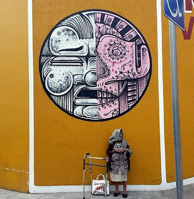 How & Nosm New Murals in Oaxaca // Mexico (6 Pictures)