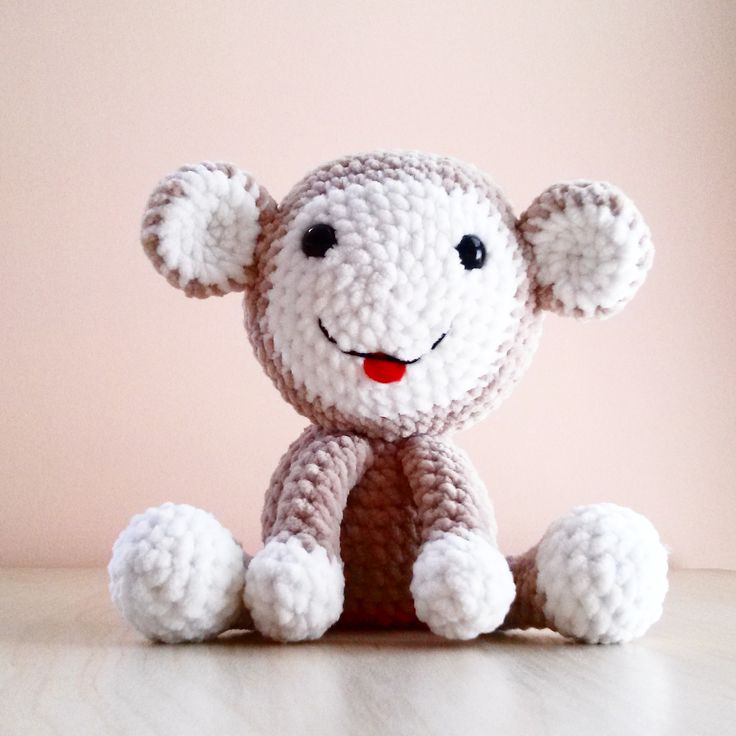 Cute crochet animals by Krempi.