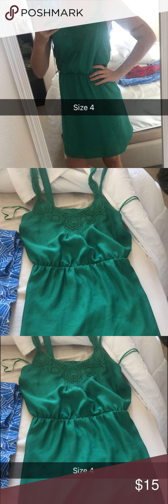 Green Sundress Green Sundress I got for a St Patrick's Day Parade and never went Dresses