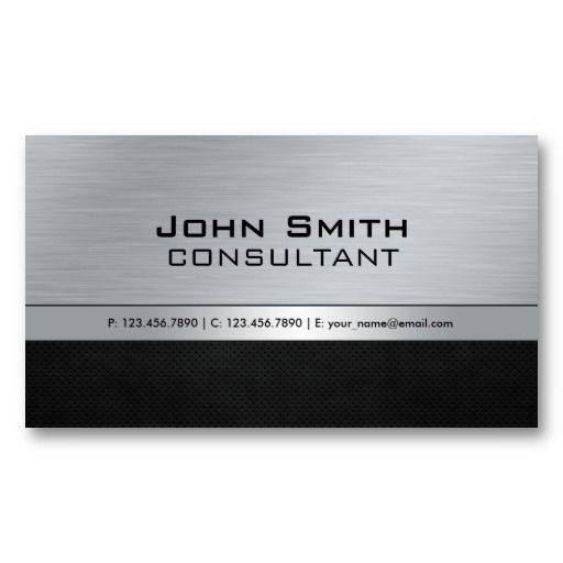 25 best notary public business cards images on pinterest business professional elegant modern black silver metal business card template reheart Choice Image