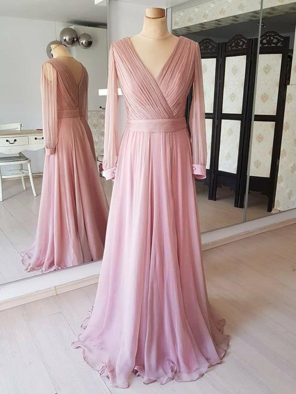 04eb577971c Dusty Rose Cheap Modest Mot... Dusty Rose Cheap Modest Mot... Bridesmaid  Dresses With Sleeves