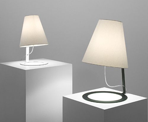 Designer table lamps ism objects