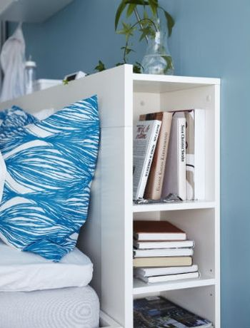 Squeeze in extra storage in your small bedroom