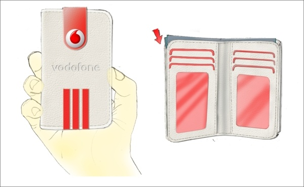 iPhone Case & Wallet by Irina Alexandru/ AIRA design studio , via Behance