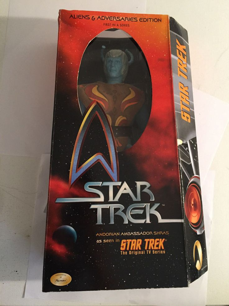 "Star Trek Andorian Ambassador Shras 12"" Action Figure The Original TV Series #Playmates"
