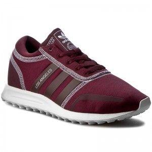 Παπούτσια adidas - Los Angeles W BA9977 Maroon/Maroon/Ftwwht