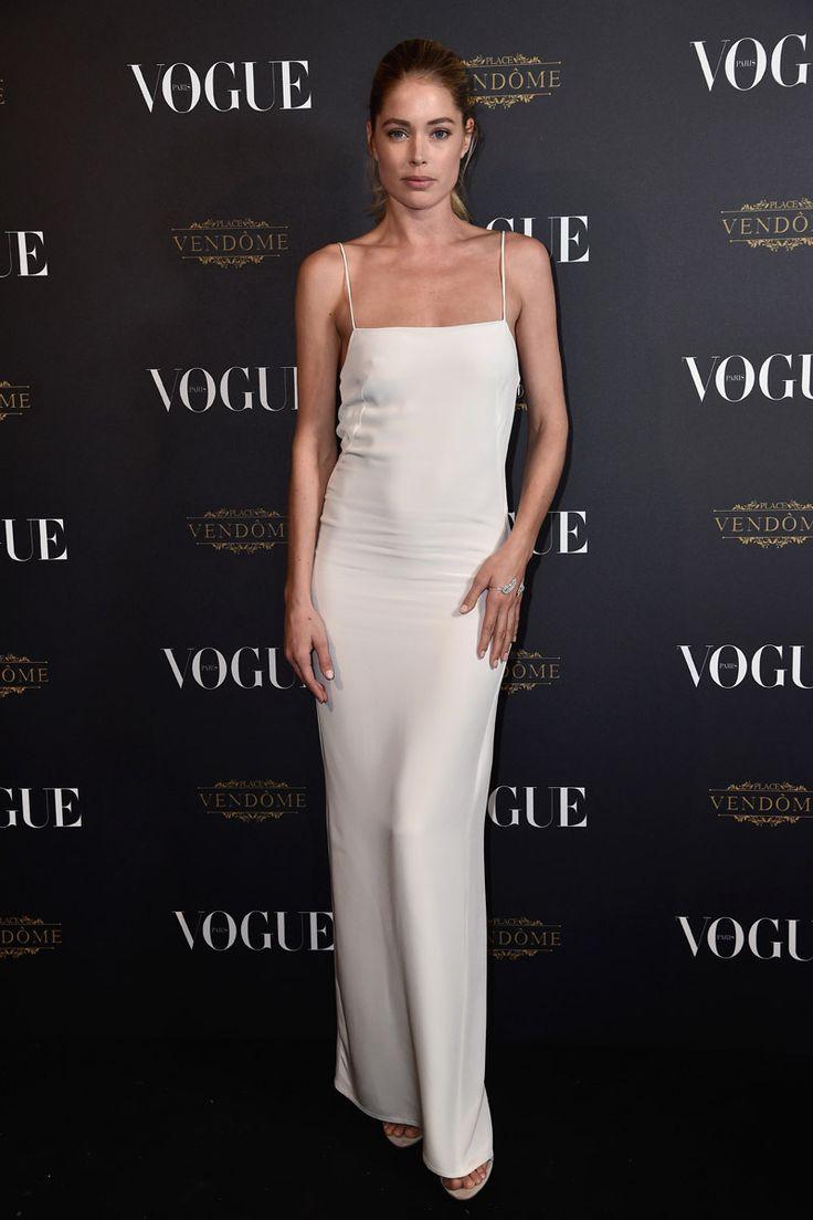 Doutzen Kroes Vogue Paris Anniversary Party