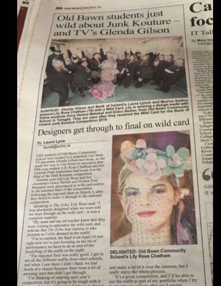My local paper did a piece on me 😍