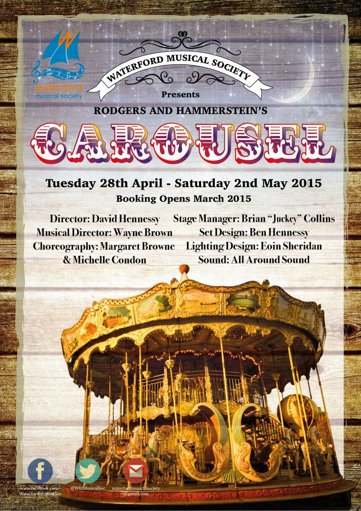 CAROUSEL Tuesday 28 April to Saturday 02 May 2015