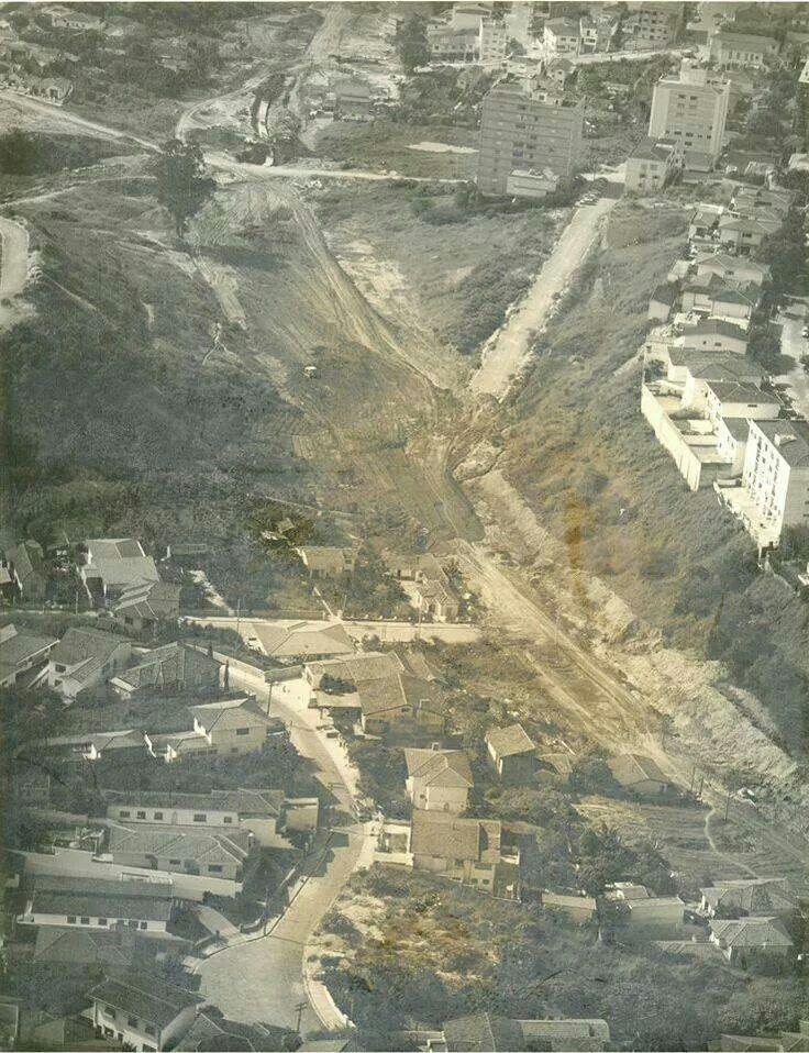 Final dos anos 70 - Construção da avenida Sumaré.