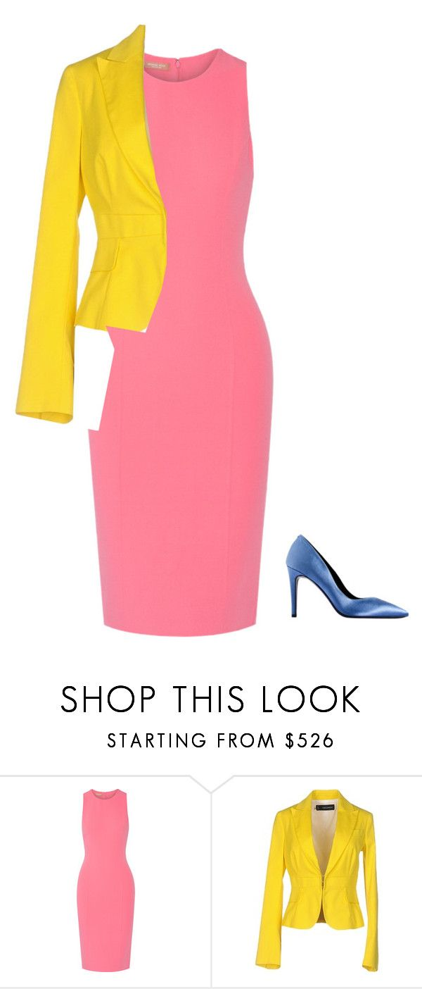 3 by asvetik on Polyvore featuring мода, Michael Kors and Dsquared2