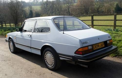 Pre Face lift Saab 900 with 37 service stamps For Sale (1987) on Car And Classic UK [C482166]