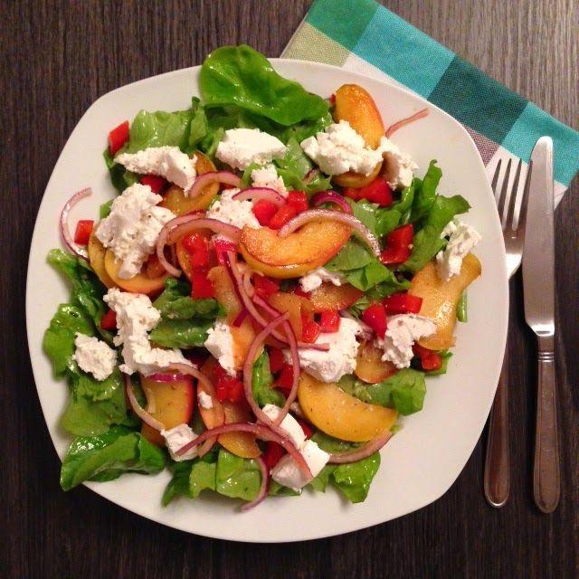 Be Metabolic: Be delicious: Bunter Apfel-Salat mit Ziegenfrischkäse