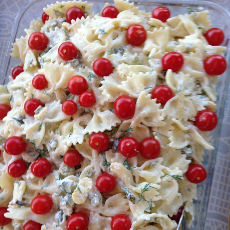 Makarna Salatası...