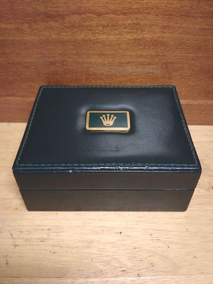 Vintage Green Rolex Empty Box from Wrist Watch 67.00.03 Montres Rolex S.A Geneve #Rolex