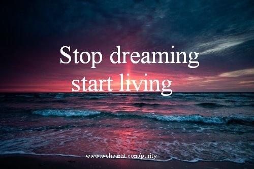 dream vs live